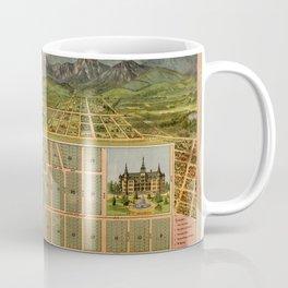 Map Of Hollywood 1887 Coffee Mug