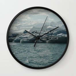 sparkling ice Wall Clock