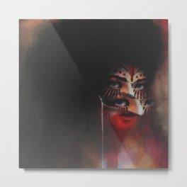 Masquerade Metal Print