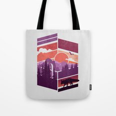 Vanishing Points Tote Bag