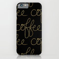 Coffee Dots iPhone 6s Slim Case