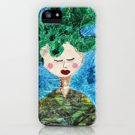 She Was Clothed iPhone Case