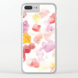 170725 Abstract Watercolour 13  |Modern Watercolor Art | Abstract Watercolors Clear iPhone Case