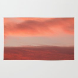 Orange Clouds InThe Sky #decor #society6 #homedecor #buyart Rug