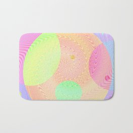 Re-Created Twisters No. 3 by Robert S. Lee Bath Mat