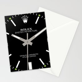 Rolex Oyster Perpetual - 114300 - Black Dial Stationery Cards