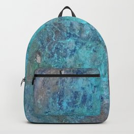 Patina Cast Iron rustic decor Backpack