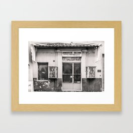 Drogheria Giannini Framed Art Print