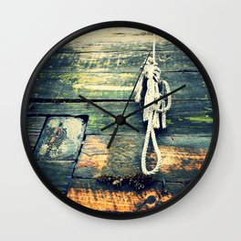 Nautical Rope 2 Wall Clock