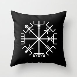 Vegvisir v2 Throw Pillow