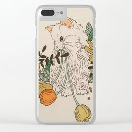 Staring into Space Clear iPhone Case