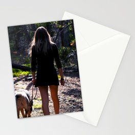 The Farther You Wander Stationery Cards