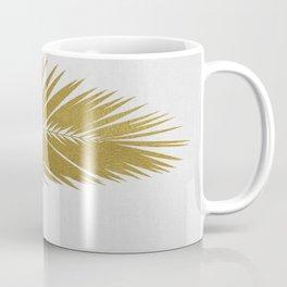 Palm Leaf Gold I Coffee Mug