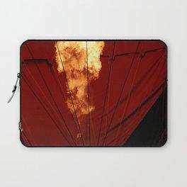 Hot Air Balloon Fire Laptop Sleeve