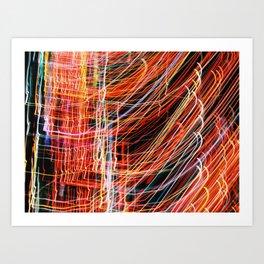 Blurred Light Art Print