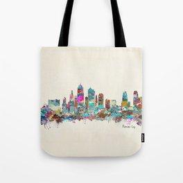 kansas city Missouri skyline Tote Bag