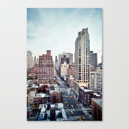 1st and 49th Canvas Print
