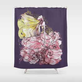 Flowergirl Shower Curtain