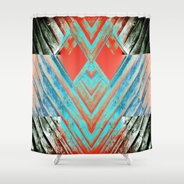 Groovy Abstract 6 Shower Curtain