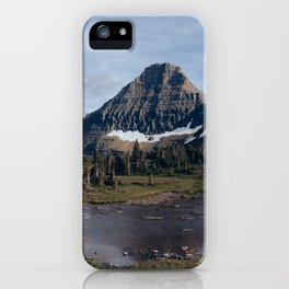 On The Hidden Lake Trailhead iPhone Case