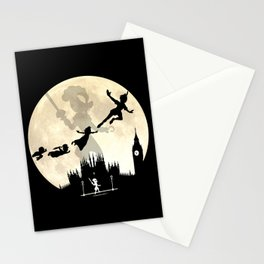 Peter Pan FullMoon Over London Stationery Cards