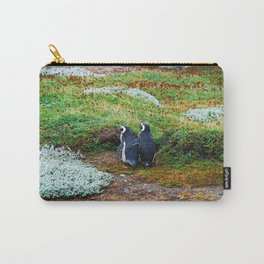 Magellanic Penguins in Love Carry-All Pouch