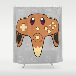 Normal Game Shower Curtain