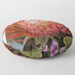 Pin wheel Protea Floor Pillow