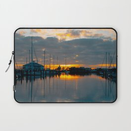 The Docks at Dawn Laptop Sleeve