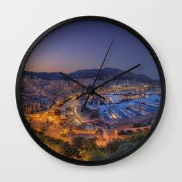 Night Hercule Wall Clock