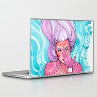 luna Laptop & iPad Skins featuring Luna by Verismaya