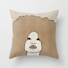 Female Two Throw Pillow
