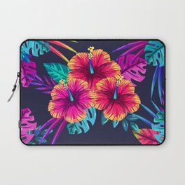 Tropical Flowers Laptop Sleeve