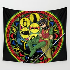 Robin's Birth by Sleep Wall Tapestry