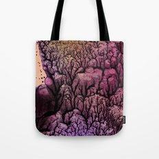 Square Stem Tote Bag
