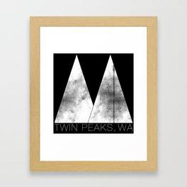 Twin Peaks, WA (White Lodge) Framed Art Print