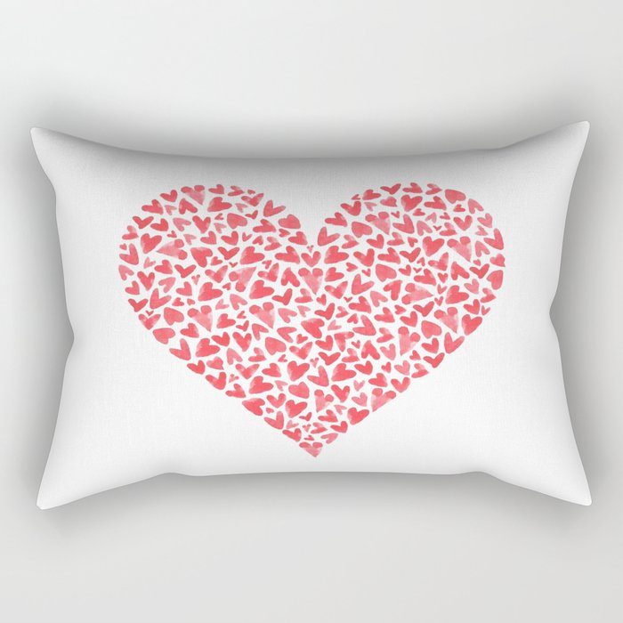 Heart Within  Rectangular Pillow