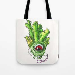 Heart of the Bog Witch Tote Bag