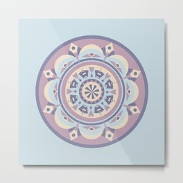 Riverside Circle Metal Print