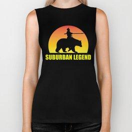 Suburban Legend Sunset Biker Tank