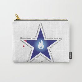 Remember your Veteran with an honor Star. Carry-All Pouch