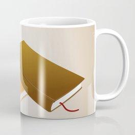 Book collection Coffee Mug