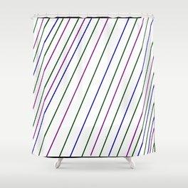 lignes Shower Curtain
