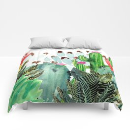 A Prickly Bunch III Comforters