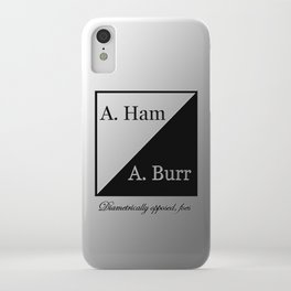 A. Ham / A. Burr iPhone Case