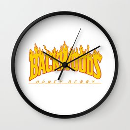 Backwoods Wall Clock