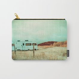 Peaceful Vintage RV In Autumn, Montana Carry-All Pouch