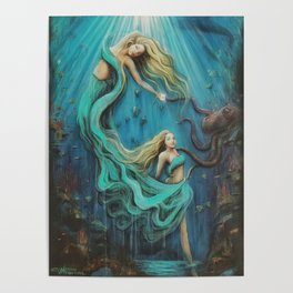 The Mermaid's Gift Poster