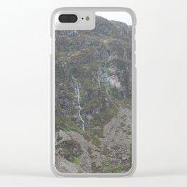 Wales Landscape 14 Cader Idris Clear iPhone Case