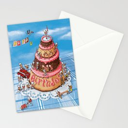 Sweet Construction Stationery Cards